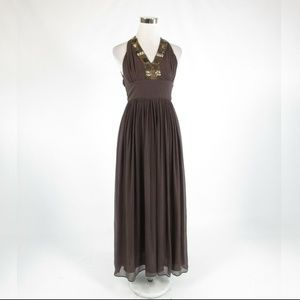 Cool brown BANANA REPUBLIC dress 0